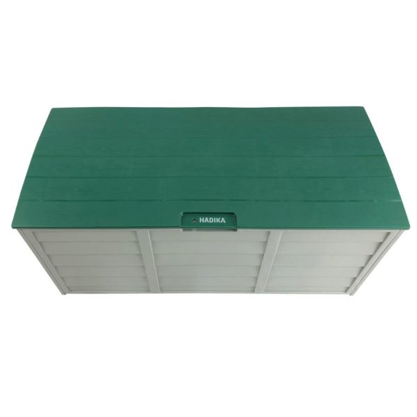 Green HADIKA 290L Outdoor Storage Box