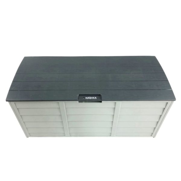 Grey HADIKA 290L Outdoor Storage Box