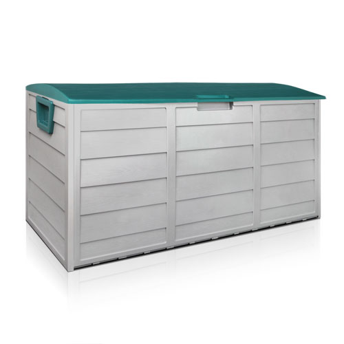 Green HADIKA 290L Outdoor Storage Box