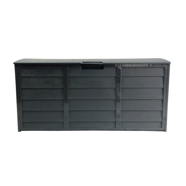 Dark Grey Outdoor Storage Box   Waterproof Storage Box