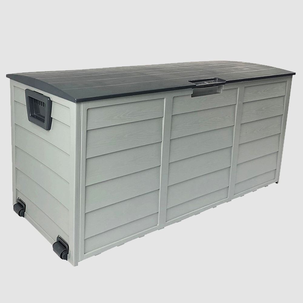 Dark Grey Lid Outdoor Storage Box