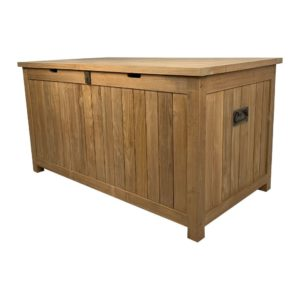 Solid Teak Outdoor Storage Box