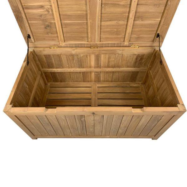 Solid Teak Outdoor Storage Box
