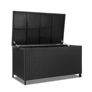 Outdoor Storage Box 320 Litre in Black