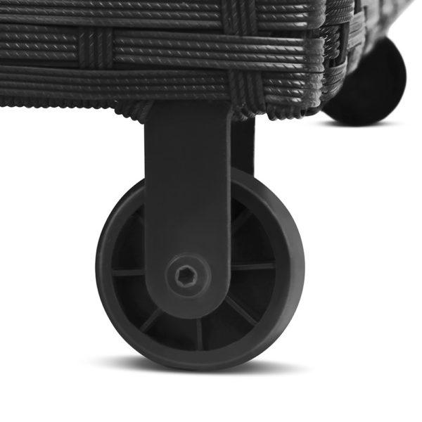 Outdoor Storage Box 320 Litre in Black