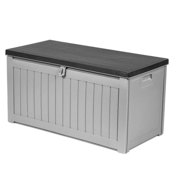 190 Litre Outdoor Storage Box & Bench
